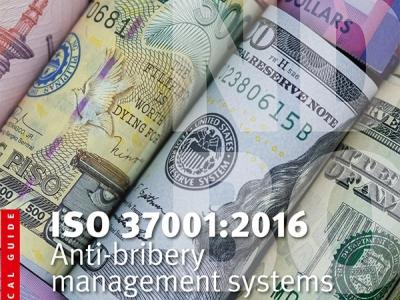 Нов наръчник на ISO за предотвратяване и борба с подкупването в организациите (ISO 37001:2016)