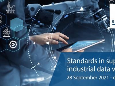 """Европейски семинар: """"Стандартите в подкрепа на веригата на стойността на индустриалните данни"""""""